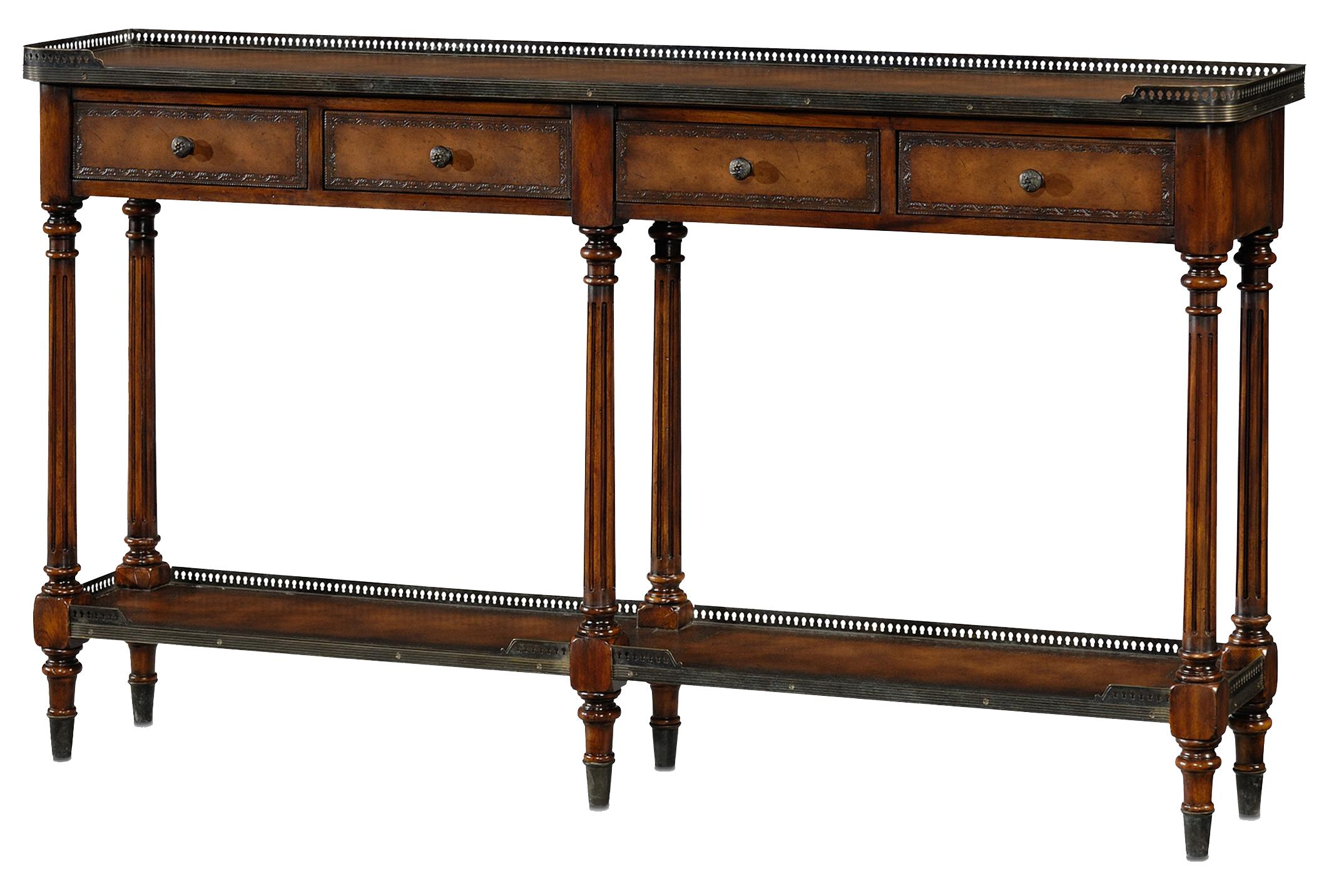 Essential TA Console Table by Theodore Alexander at Baer's Furniture