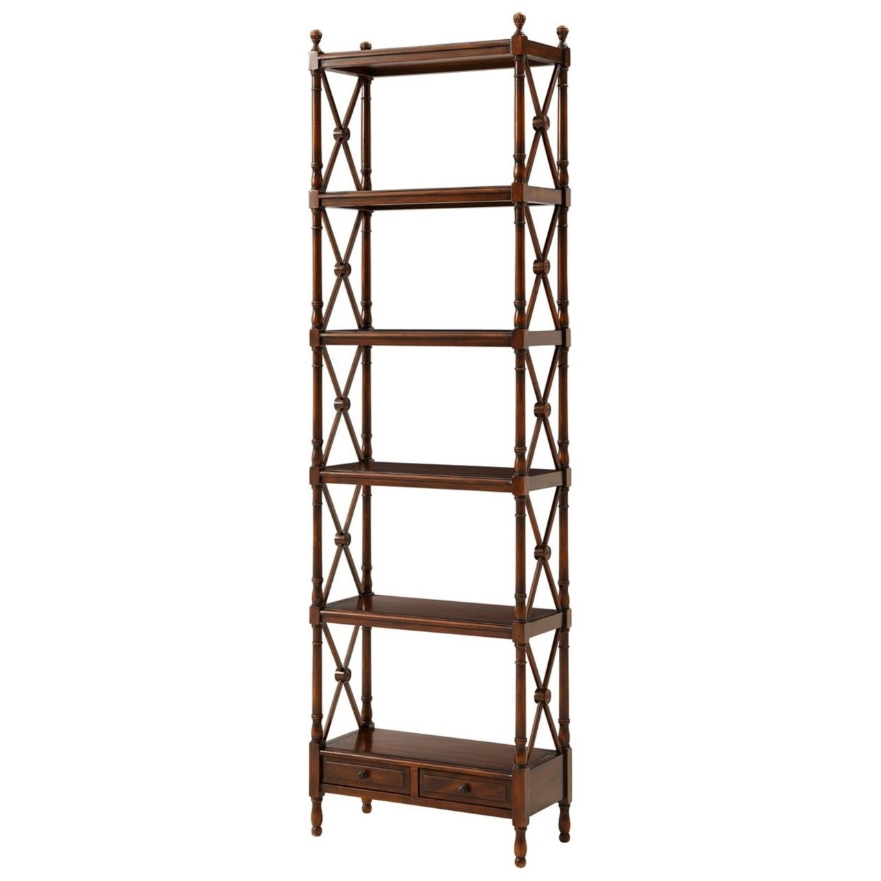 Essential TA A Display from the Regency Etagere by Theodore Alexander at Baer's Furniture