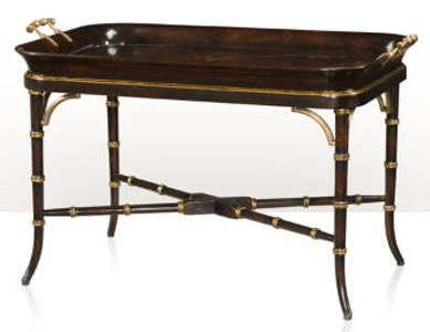 Indochine Graceful Pleasures Tray by Theodore Alexander at Baer's Furniture