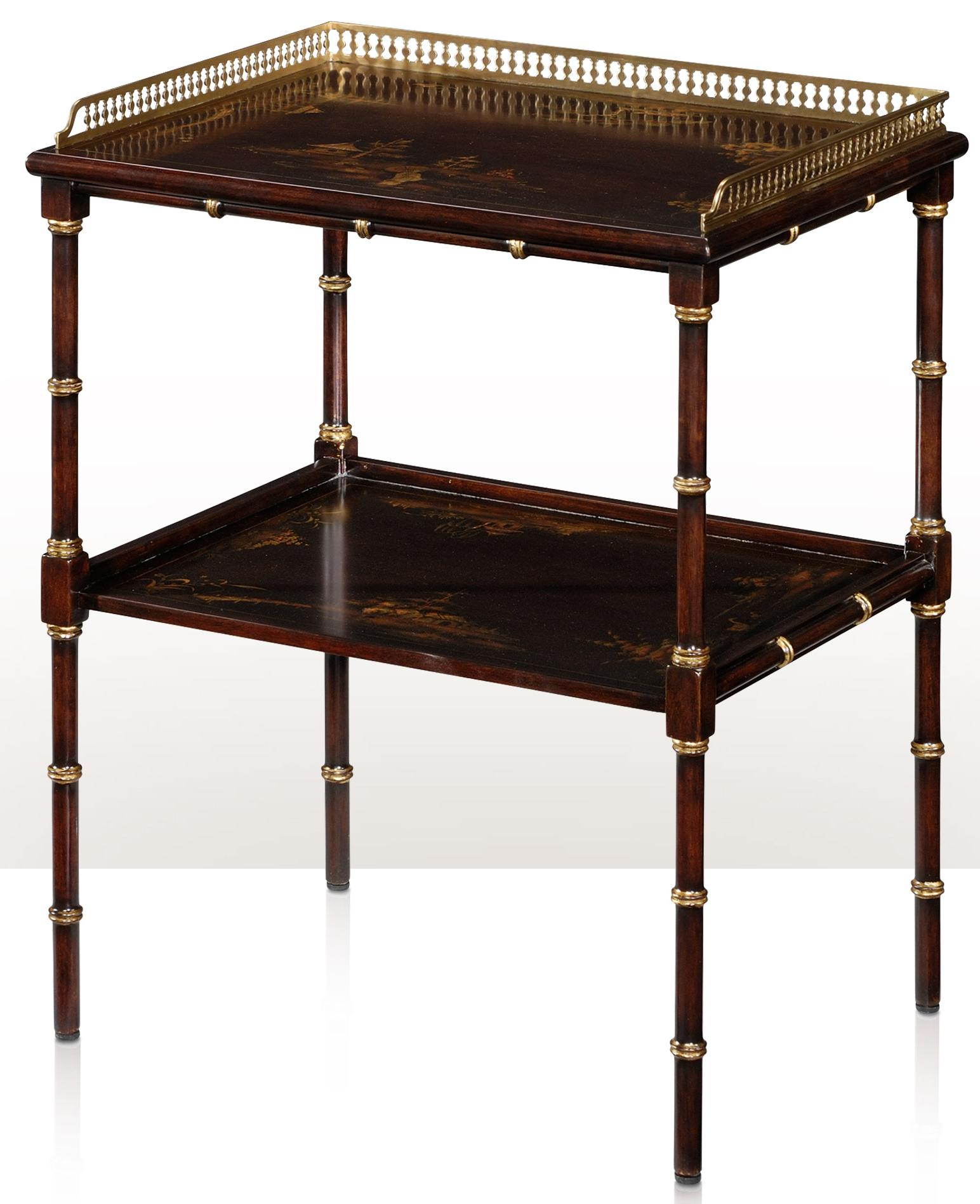 Indochine Lamp Table by Theodore Alexander at Baer's Furniture
