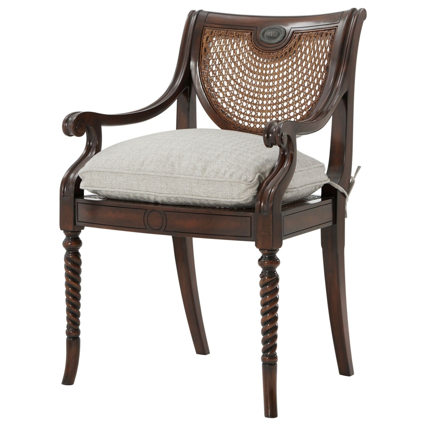 Seating Lady Emily's Favorite Armchair by Theodore Alexander at Baer's Furniture