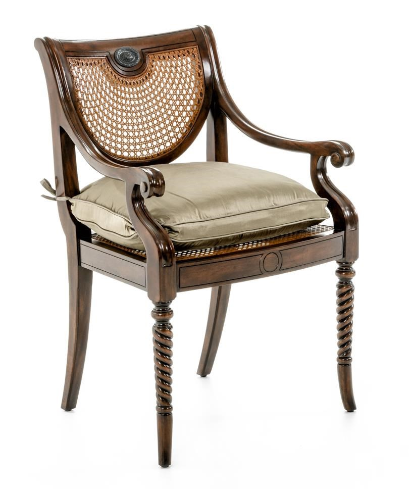 Seating Lady Emily's Favourite Armchair by Theodore Alexander at Baer's Furniture