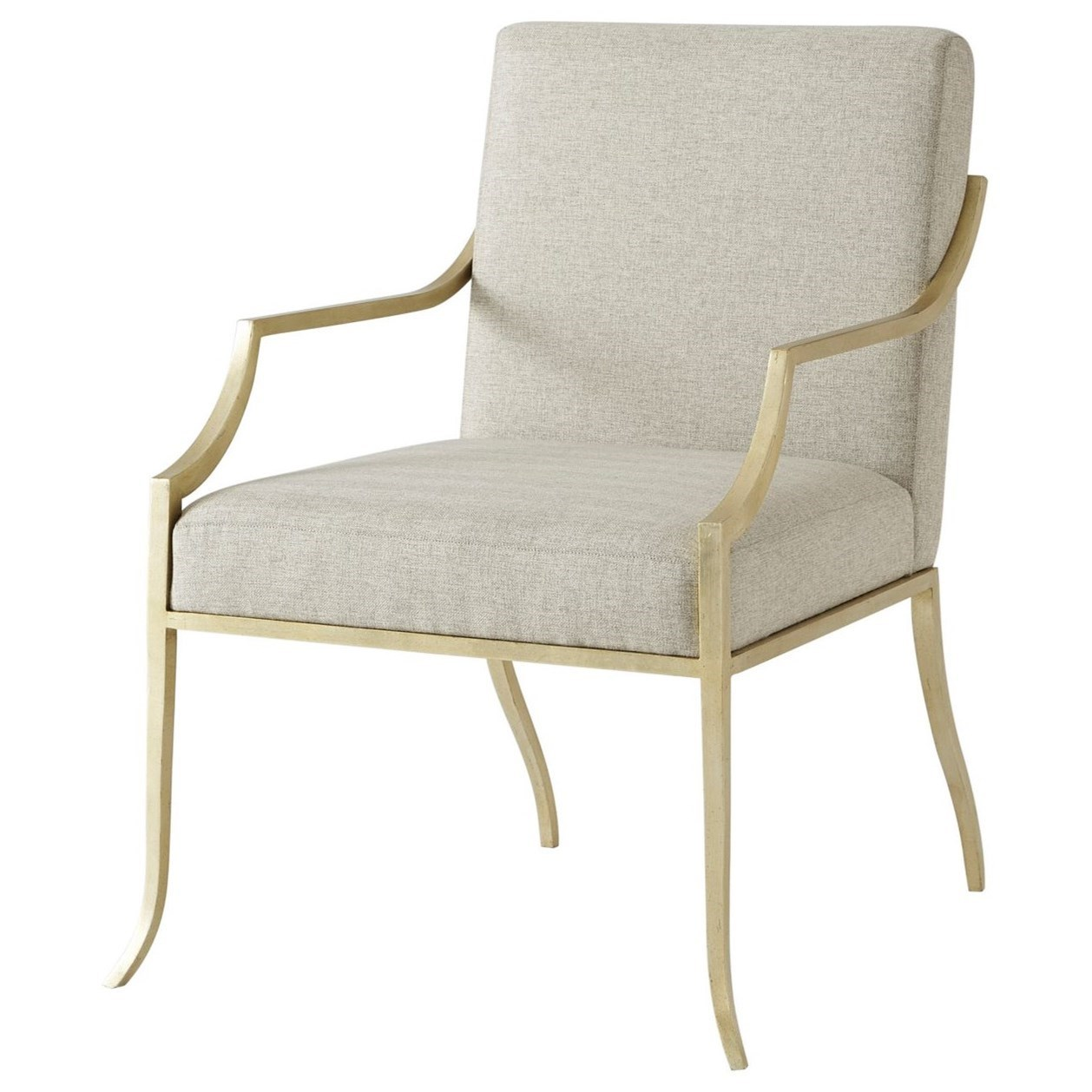 Seating Larissa Accent Chair by Theodore Alexander at Baer's Furniture