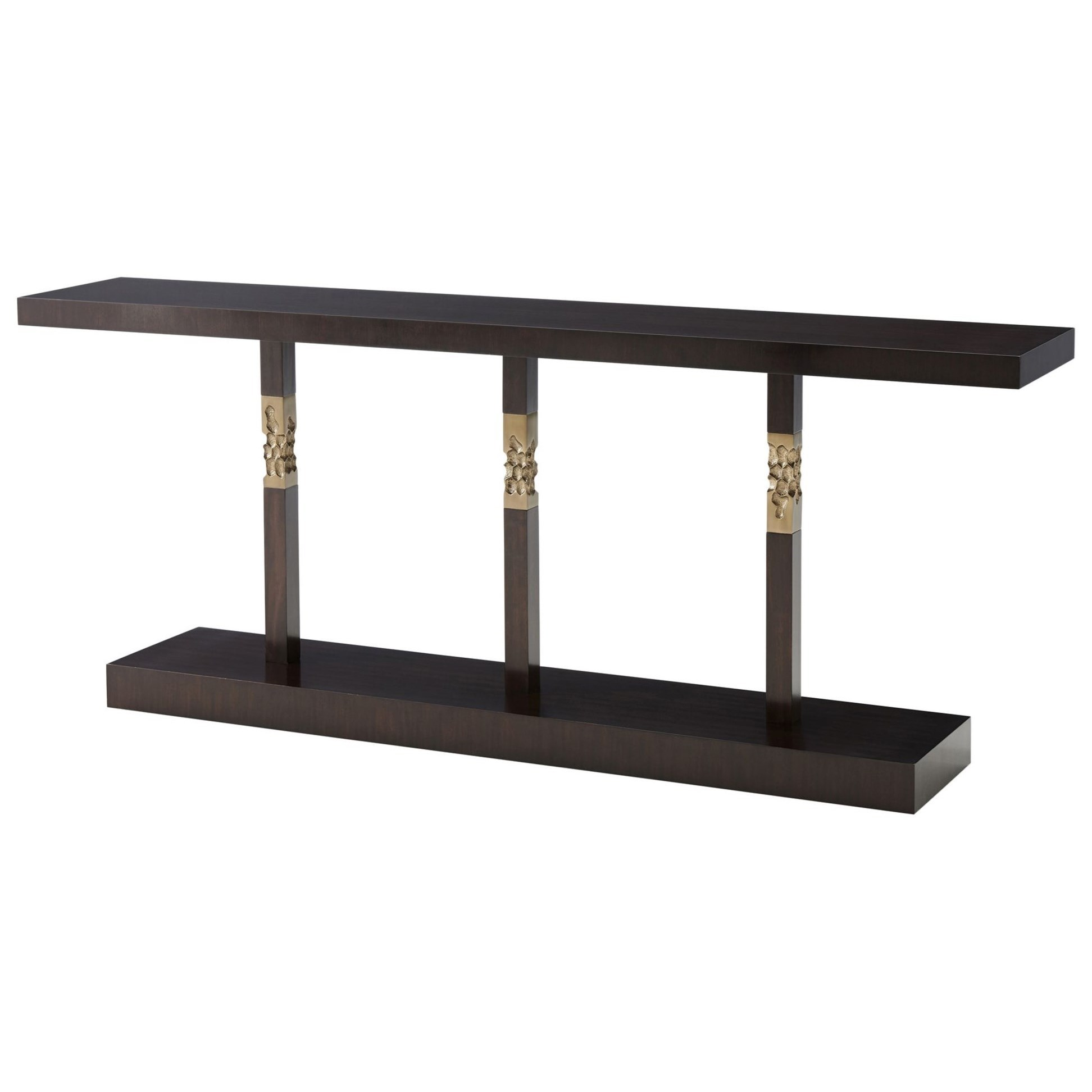 Tables Erno Console Table by Theodore Alexander at Jacksonville Furniture Mart