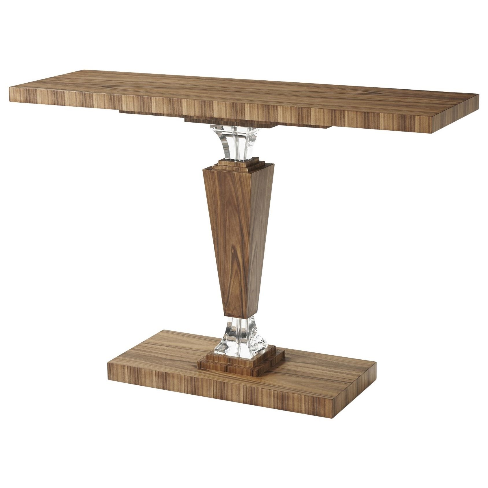 Tables Optical Illusion Console Table by Theodore Alexander at Baer's Furniture
