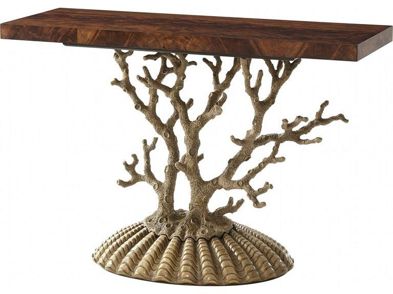 Tables Console Table by Theodore Alexander at Baer's Furniture