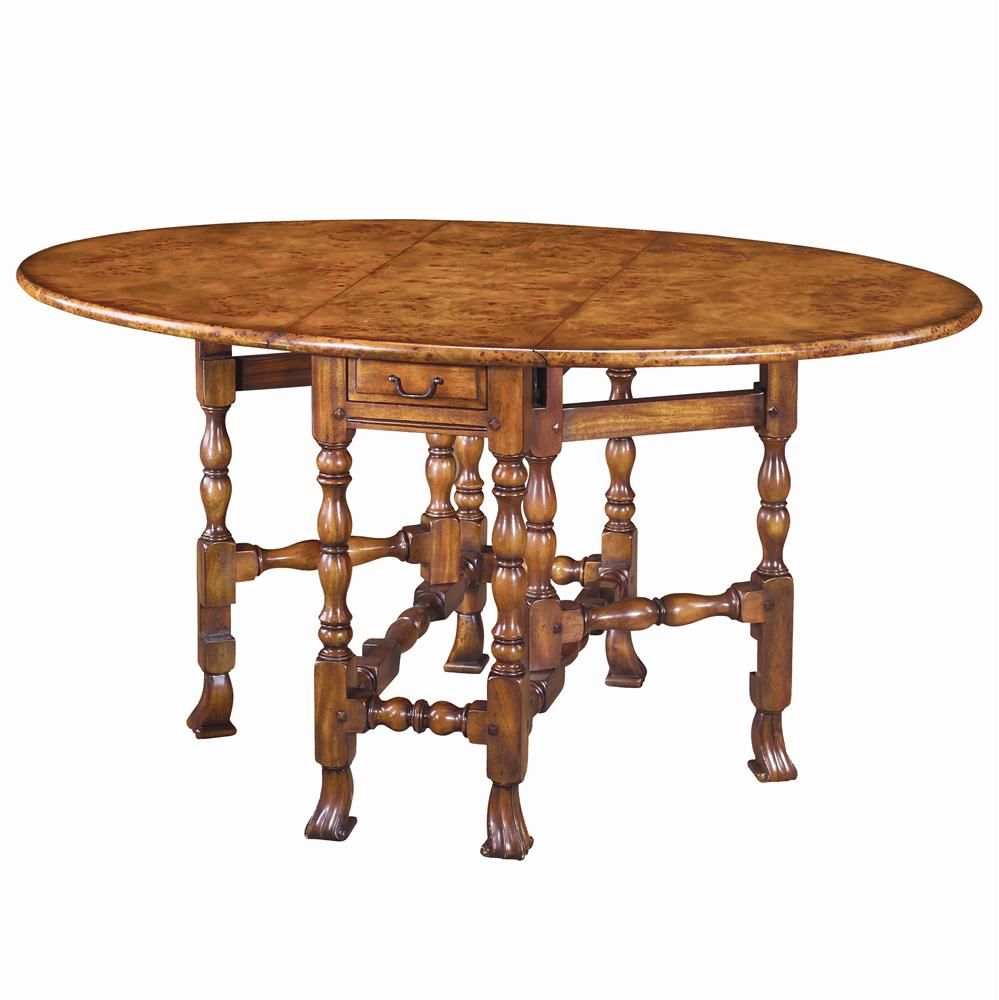 Tables Oval Dining Table by Theodore Alexander at Baer's Furniture