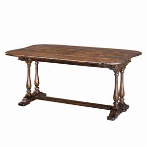 Theodore Alexander Tables Rectangular Drop Leaf Dining Table