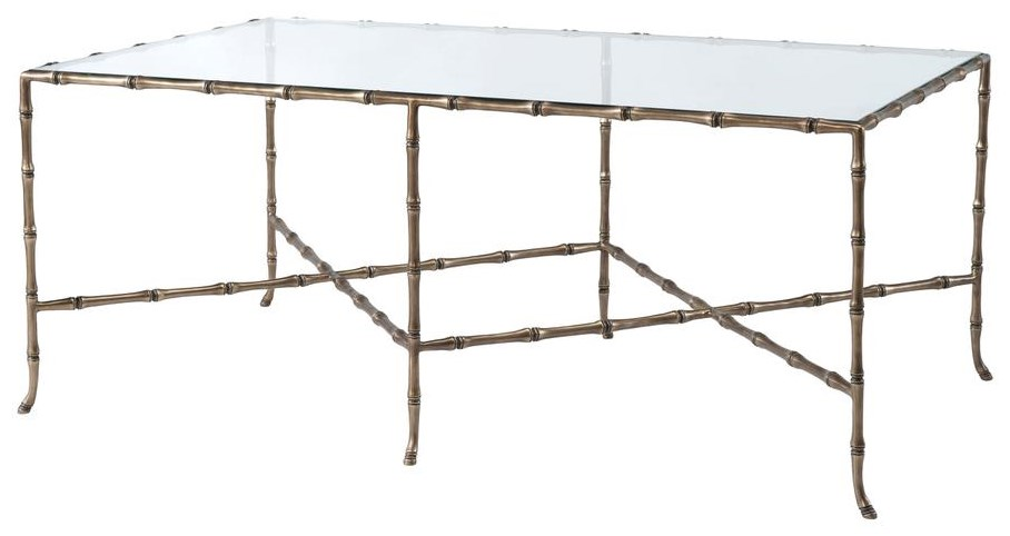 Theodore Alexander Rectangular Cocktail Table by Theodore Alexander at Baer's Furniture