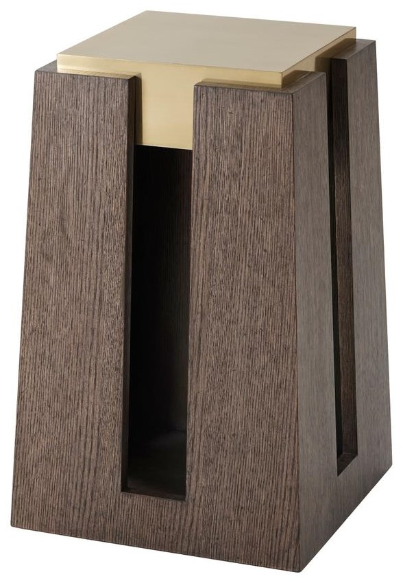 Theodore Alexander Square Accent Table by Theodore Alexander at Baer's Furniture