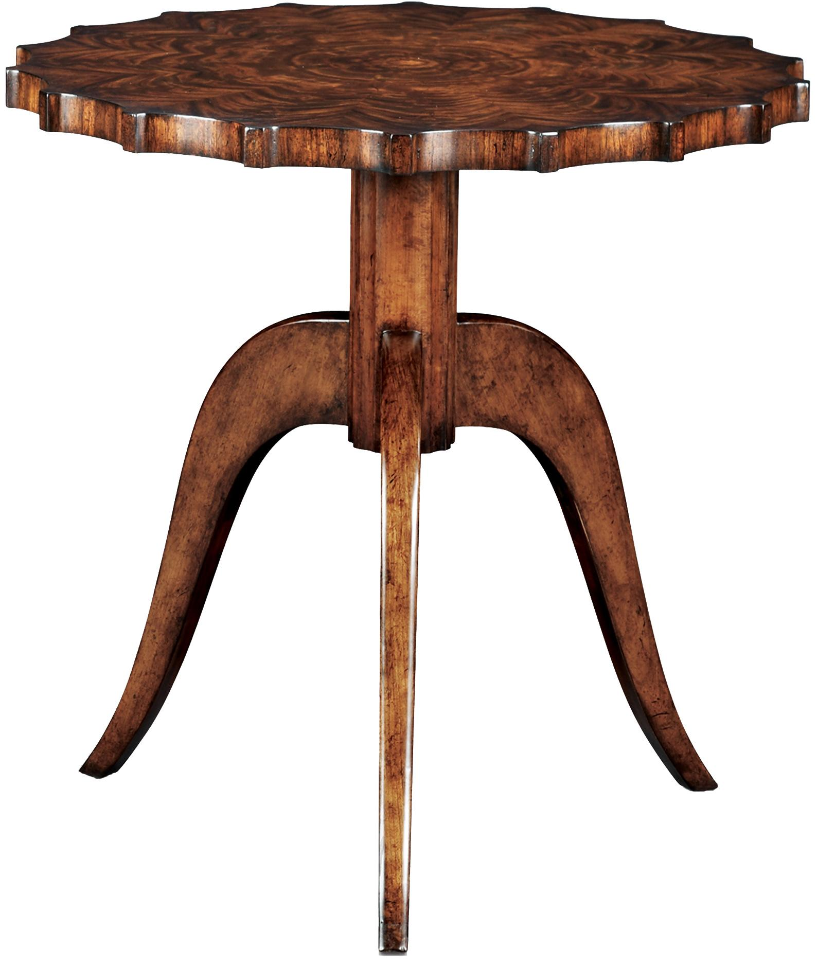 Vanucci Eclectics End Table by Theodore Alexander at Baer's Furniture