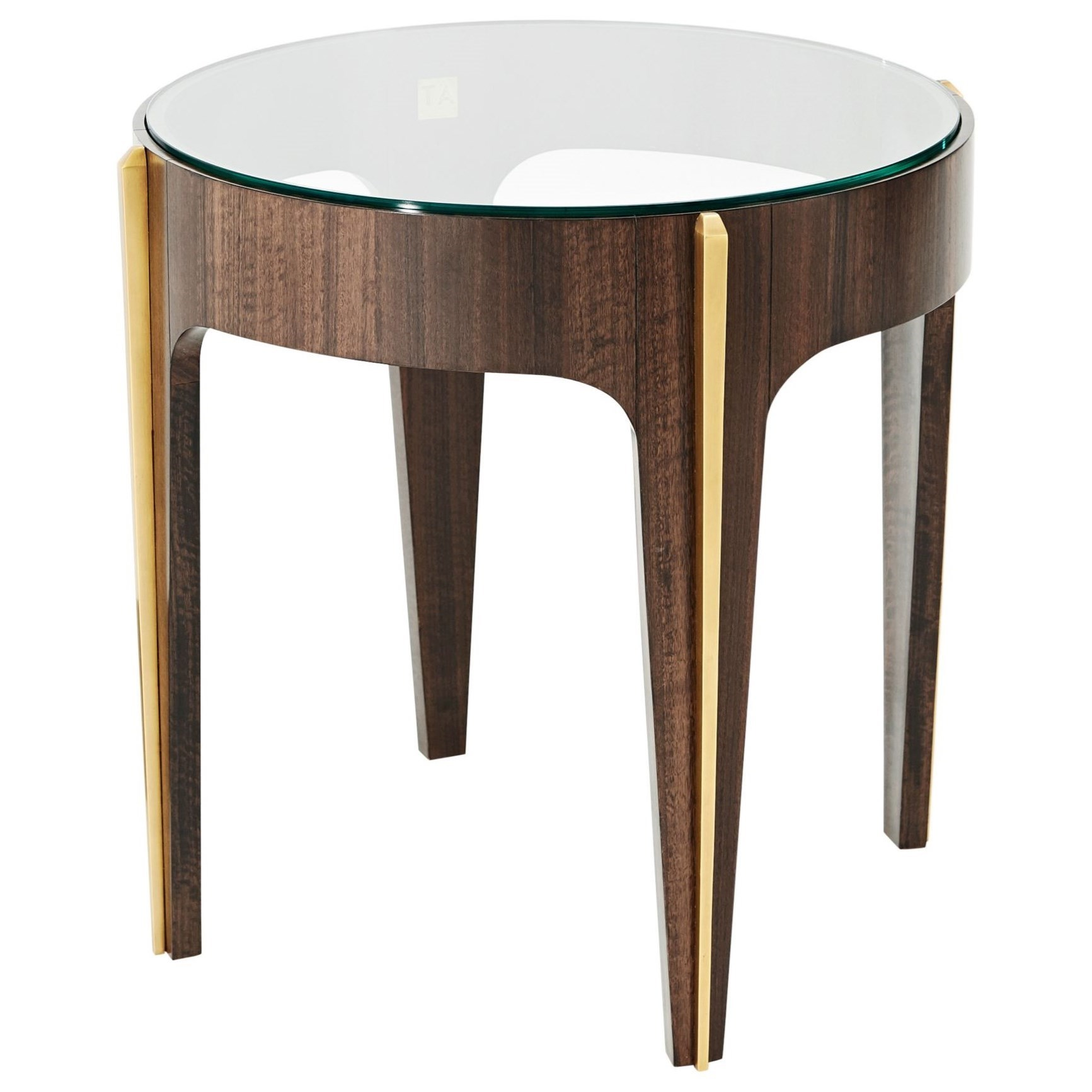 Vanucci Eclectics Bold Lamp Table by Theodore Alexander at Baer's Furniture