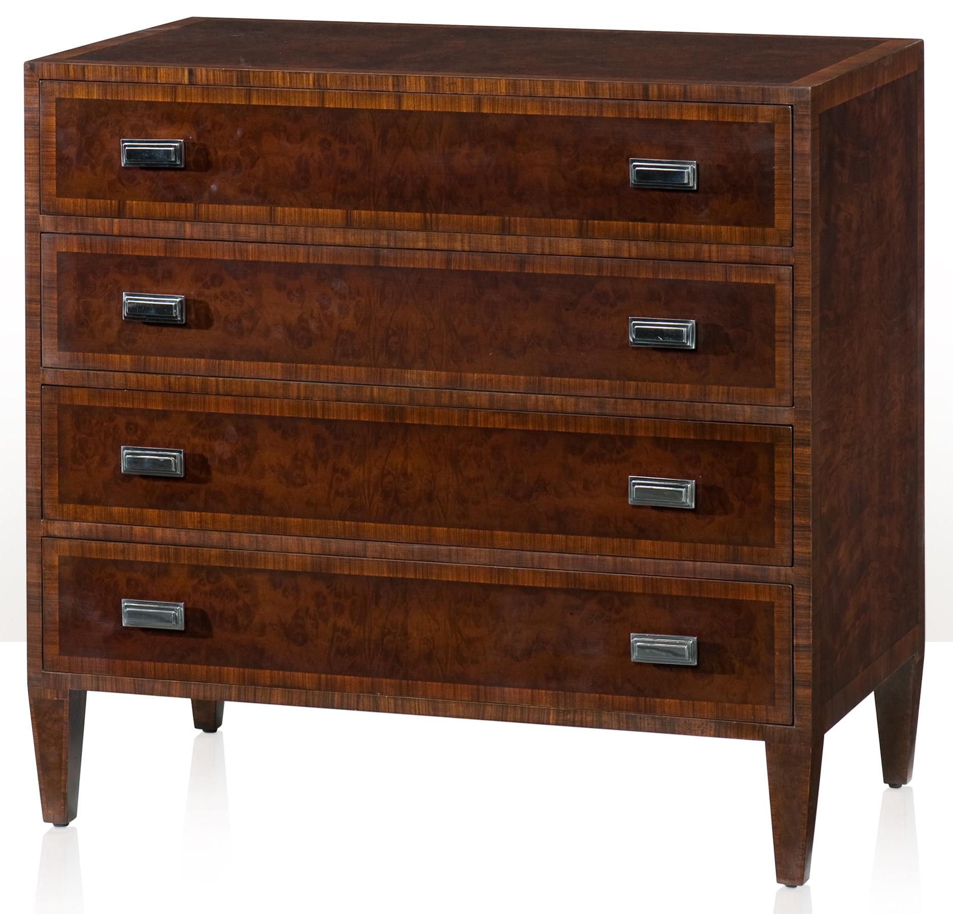 Vanucci Eclectics Chest of Drawers by Theodore Alexander at Baer's Furniture