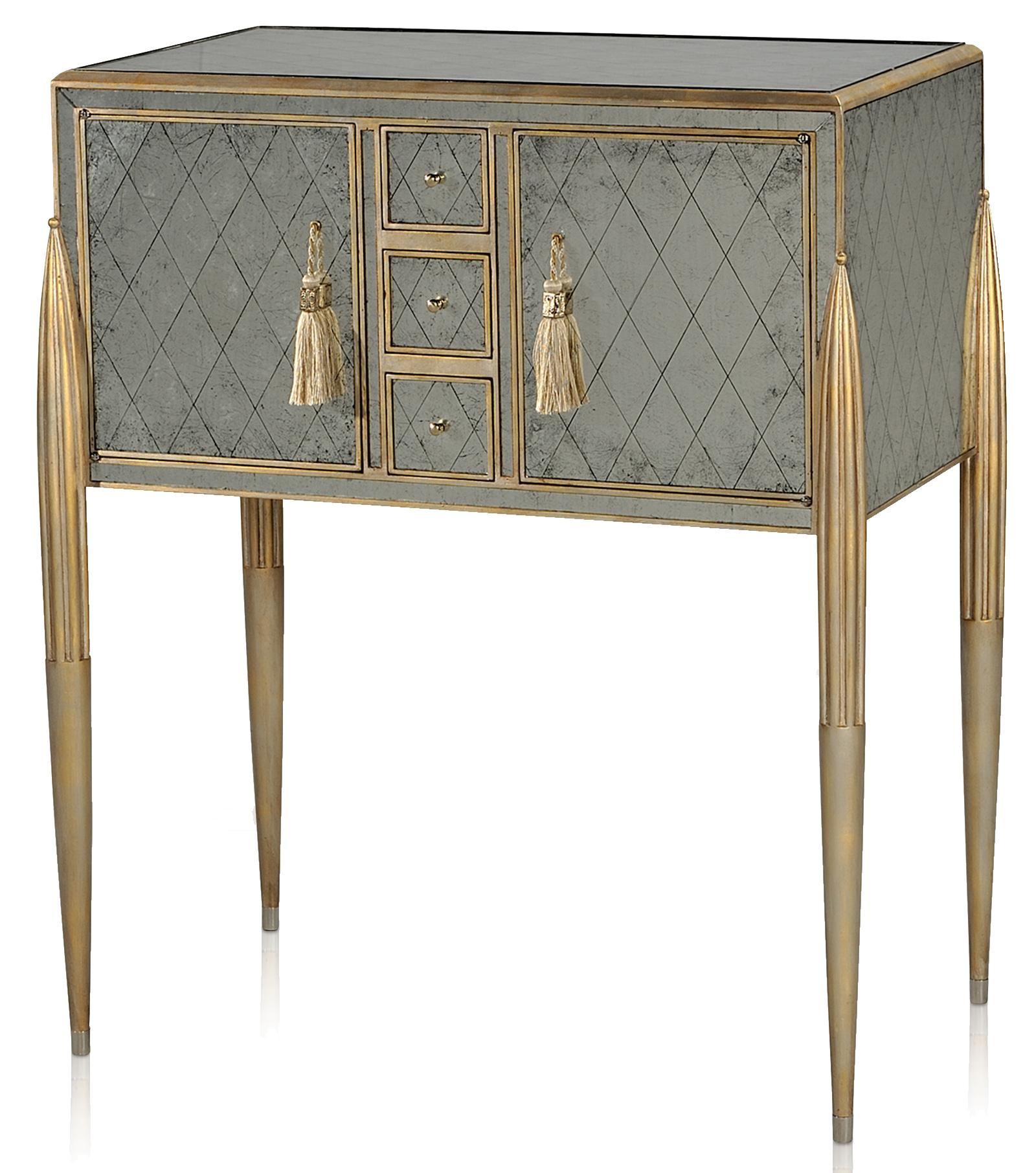 Vanucci Eclectics Bar Cabinet by Theodore Alexander at Baer's Furniture