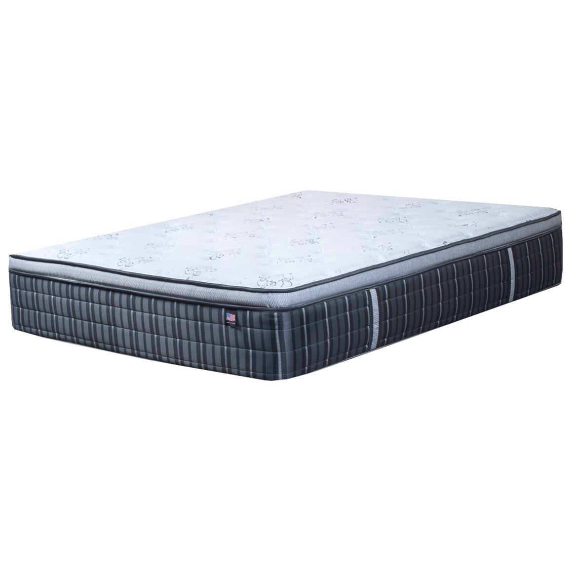 Bravura Virtuoso Luxury Pillow Top Twin Luxury Pillow Top Mattress by Therapedic at Rooms and Rest