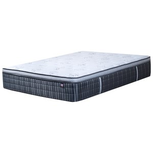 Twin Extra Long Luxury Pillow Top Pocketed Coil Mattress
