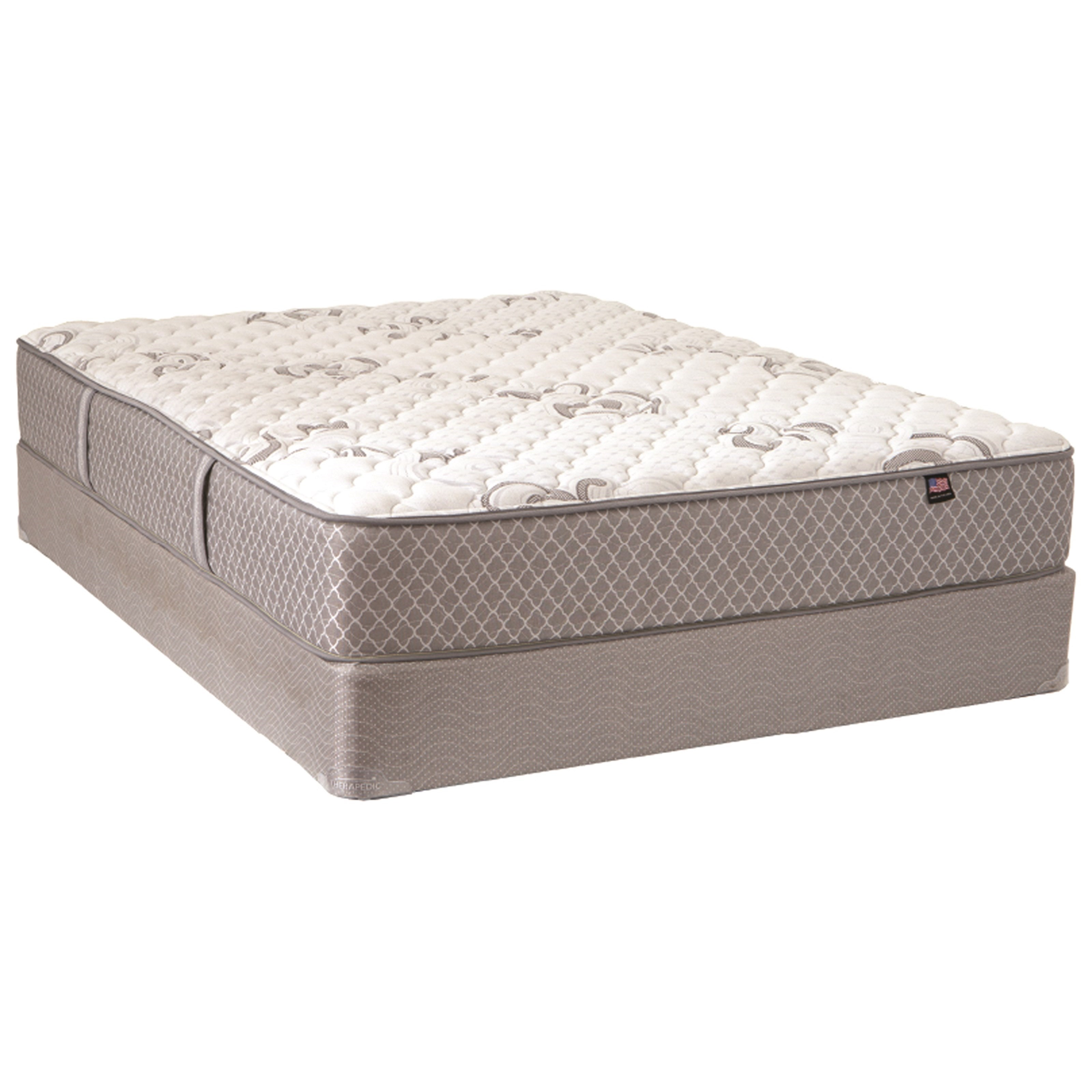 Broadway Firm Twin Firm Mattress Set by Therapedic at Darvin Furniture