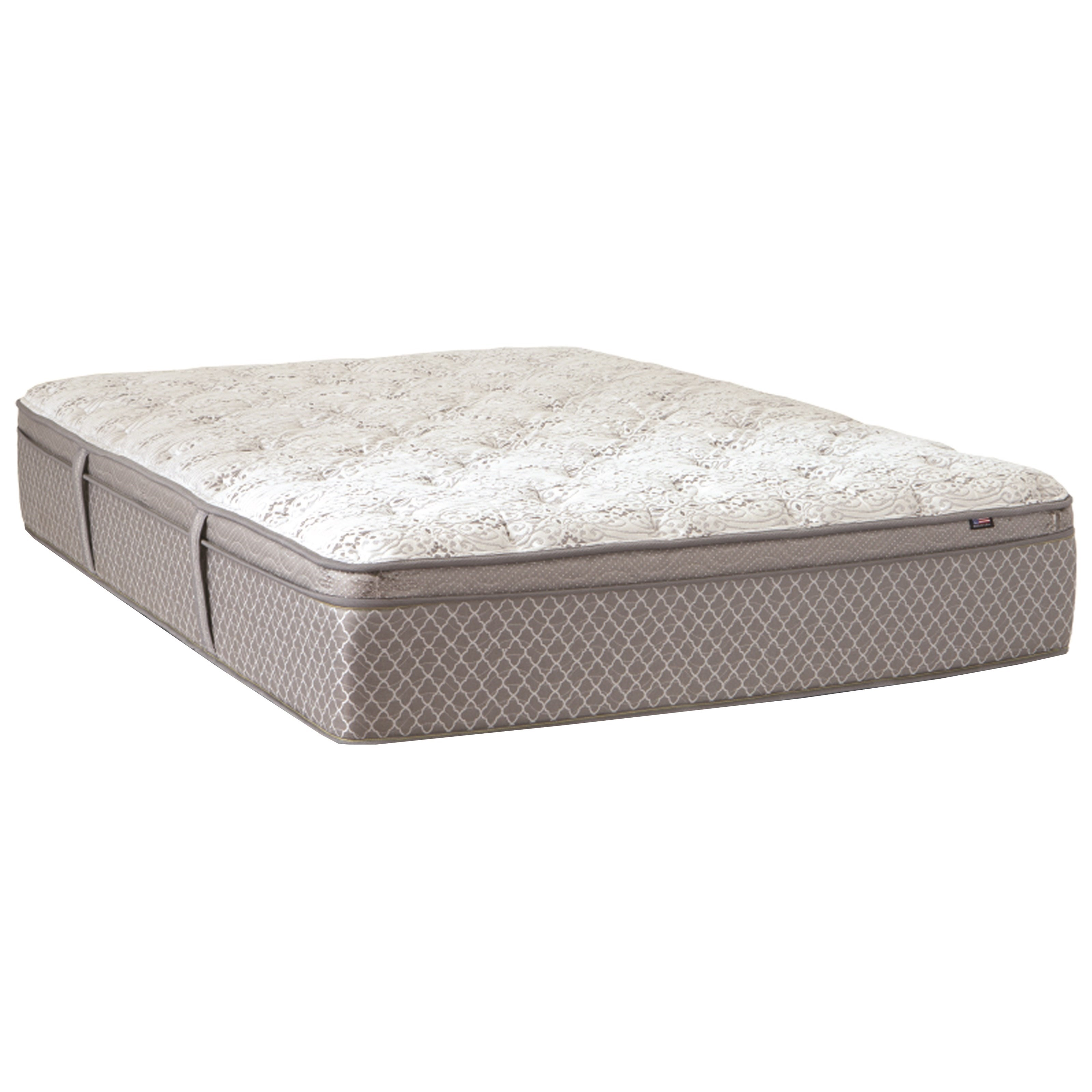 Gramercy Park Pillow Top Queen Pillow Top Mattress by Therapedic at Darvin Furniture