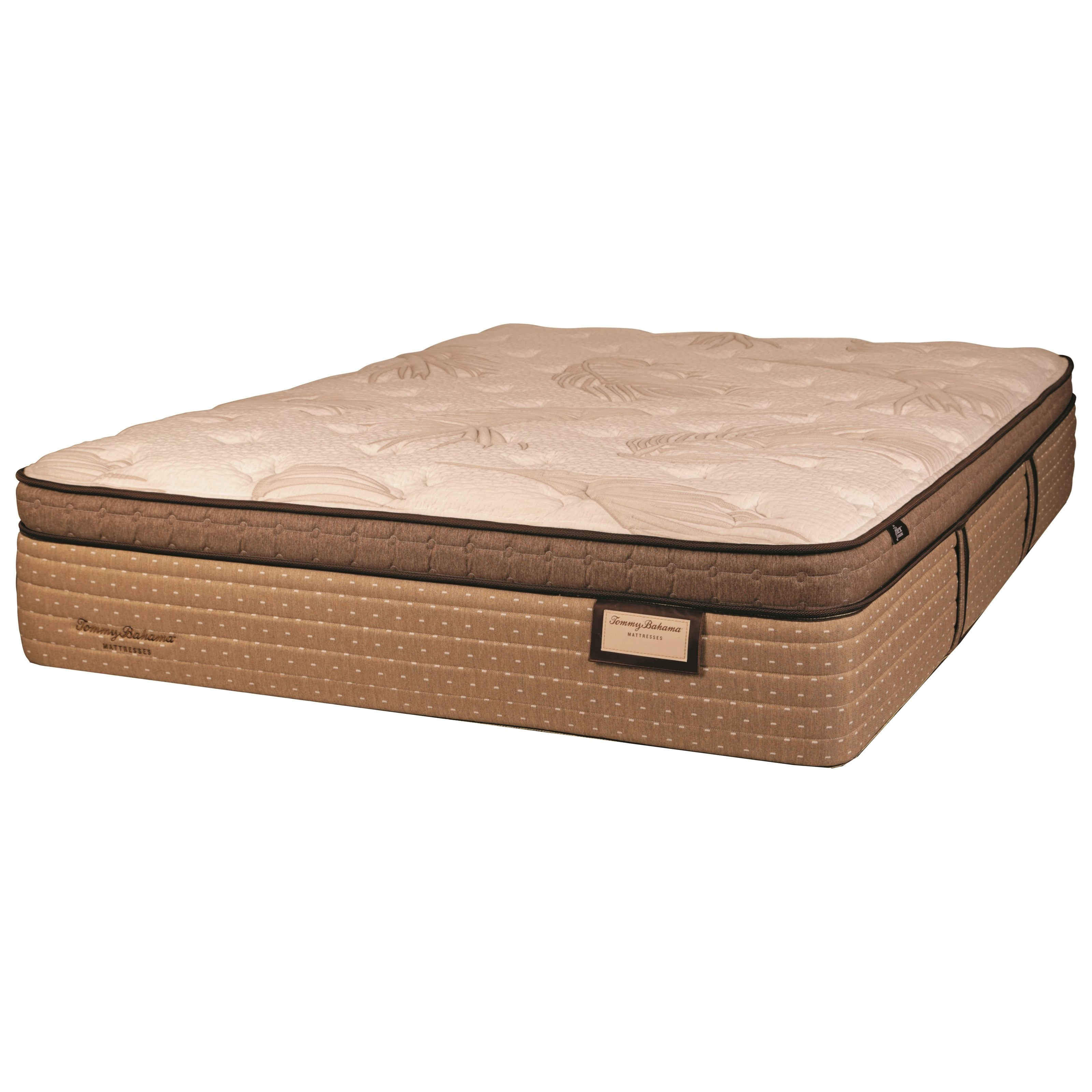 Tommy Bahama Salty Kisses ET Queen Euro Top Luxury Mattress by Tommy Bahama Mattress at Baer's Furniture