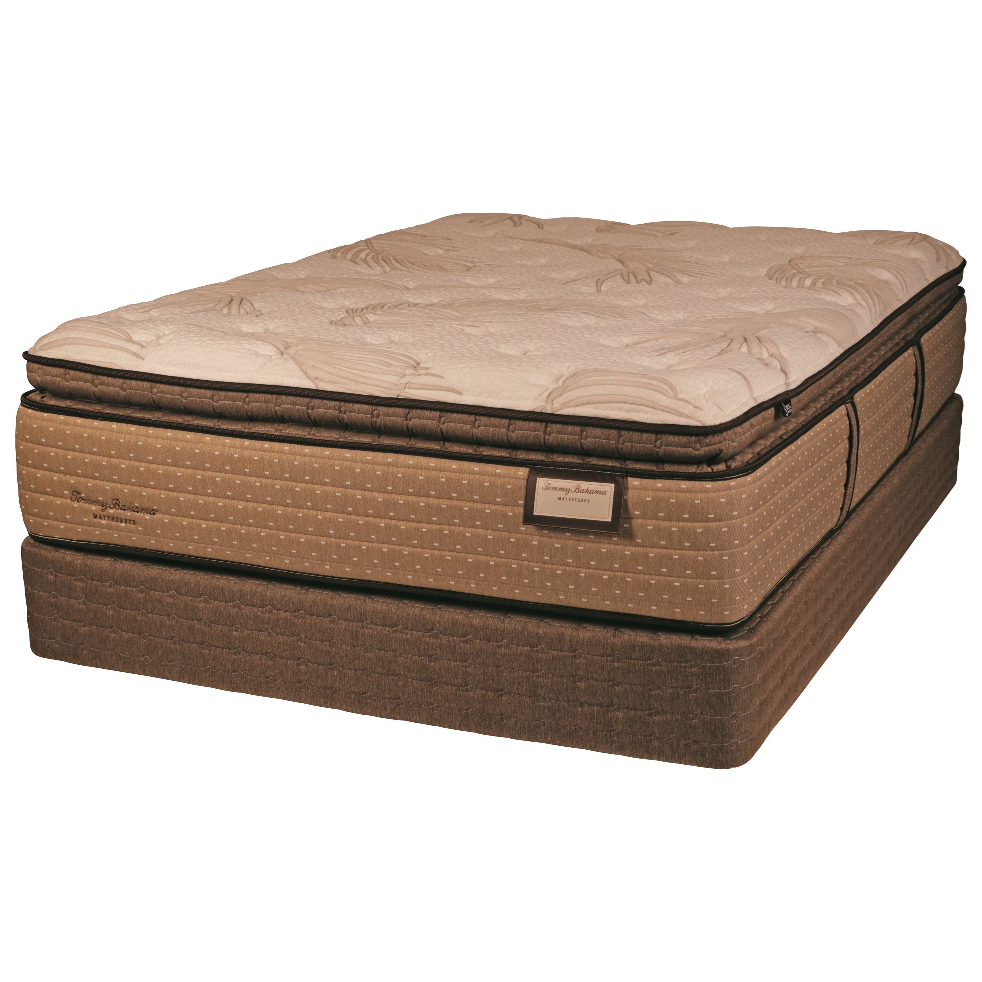 Tommy Bahama Sea Shell Wishes PT Queen Pillow Top Luxury Mattress Set by Tommy Bahama Mattress at Baer's Furniture