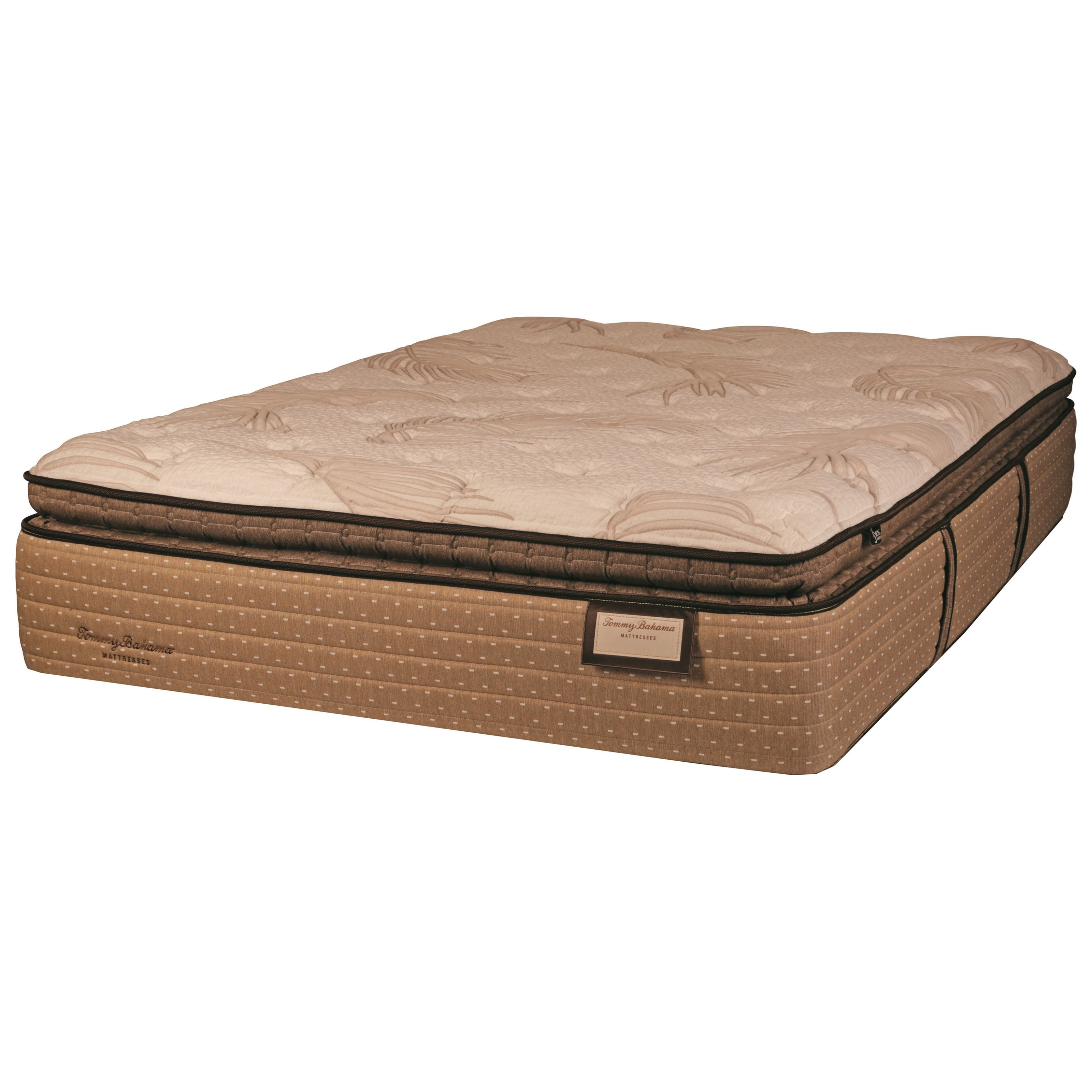 Tommy Bahama Sea Shell Wishes PT King Pillow Top Luxury Mattress by Therapedic at Nassau Furniture and Mattress