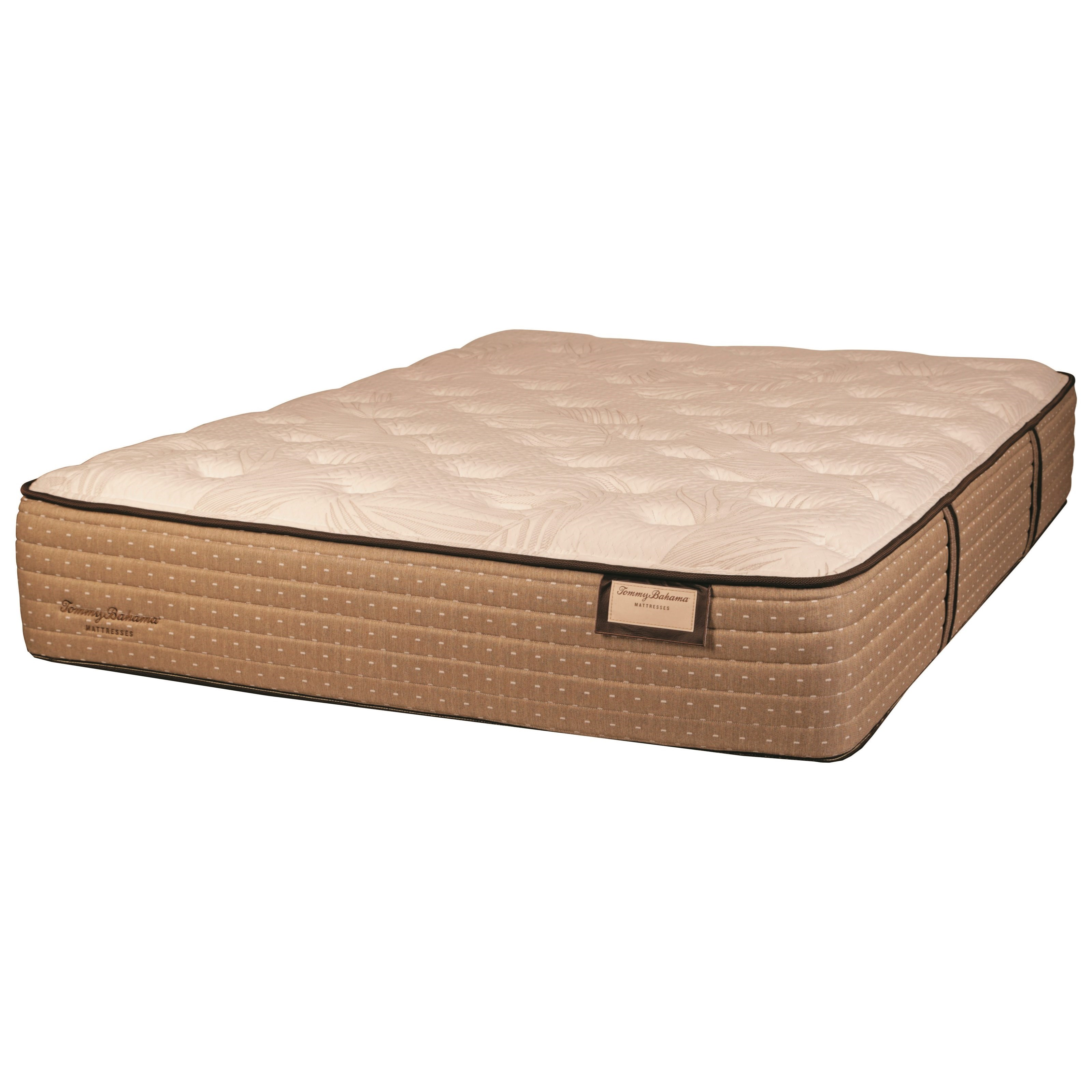 Tommy Bahama Shake the Sand Plush 6036 King Plush Luxry Mattress by Tommy Bahama Mattress at Baer's Furniture