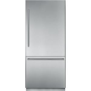 "Thermador Bottom Freezer Refrigerators - Thermador 36"" Built-In Bottom Freezer"