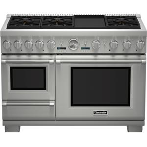"""Thermador Ranges - Thermador 48"""" Pro Grand® Dual Fuel Steam Range"""