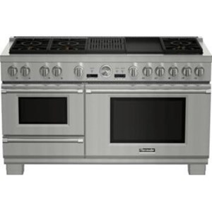 """Thermador Ranges - Thermador 60"""" Commercial Depth Dual Fuel Steam Range"""