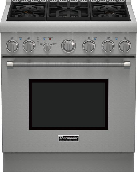 """Ranges - Thermador 30"""" Pro Harmony® 5 Burner Gas Range by Thermador at Fisher Home Furnishings"""