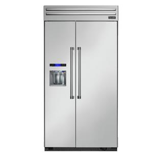"""Thermador Side-By-Side Refrigerators - Thermador 42"""" Built-In Side-by-Side Refrigerator"""