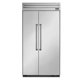 "Thermador Side-By-Side Refrigerators - Thermador 42"" Built-In Side-By-Side Refrigerator"