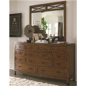 Thomasville® American Anthem Dresser and Mirror
