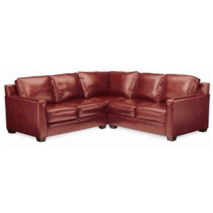 Thomasville® Leather Choices - Metro Select Plus Leather Sectional
