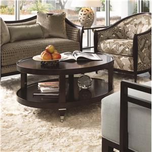 Thomasville® Spellbound Oval Cocktail Table
