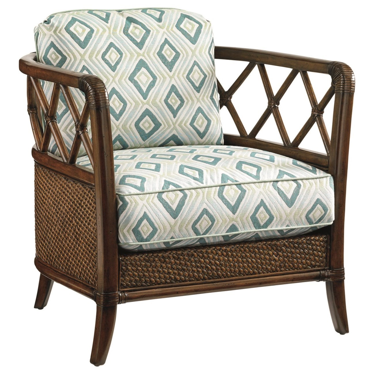 Bali Hai Glen Isle Chair by Tommy Bahama Home at Baer's Furniture