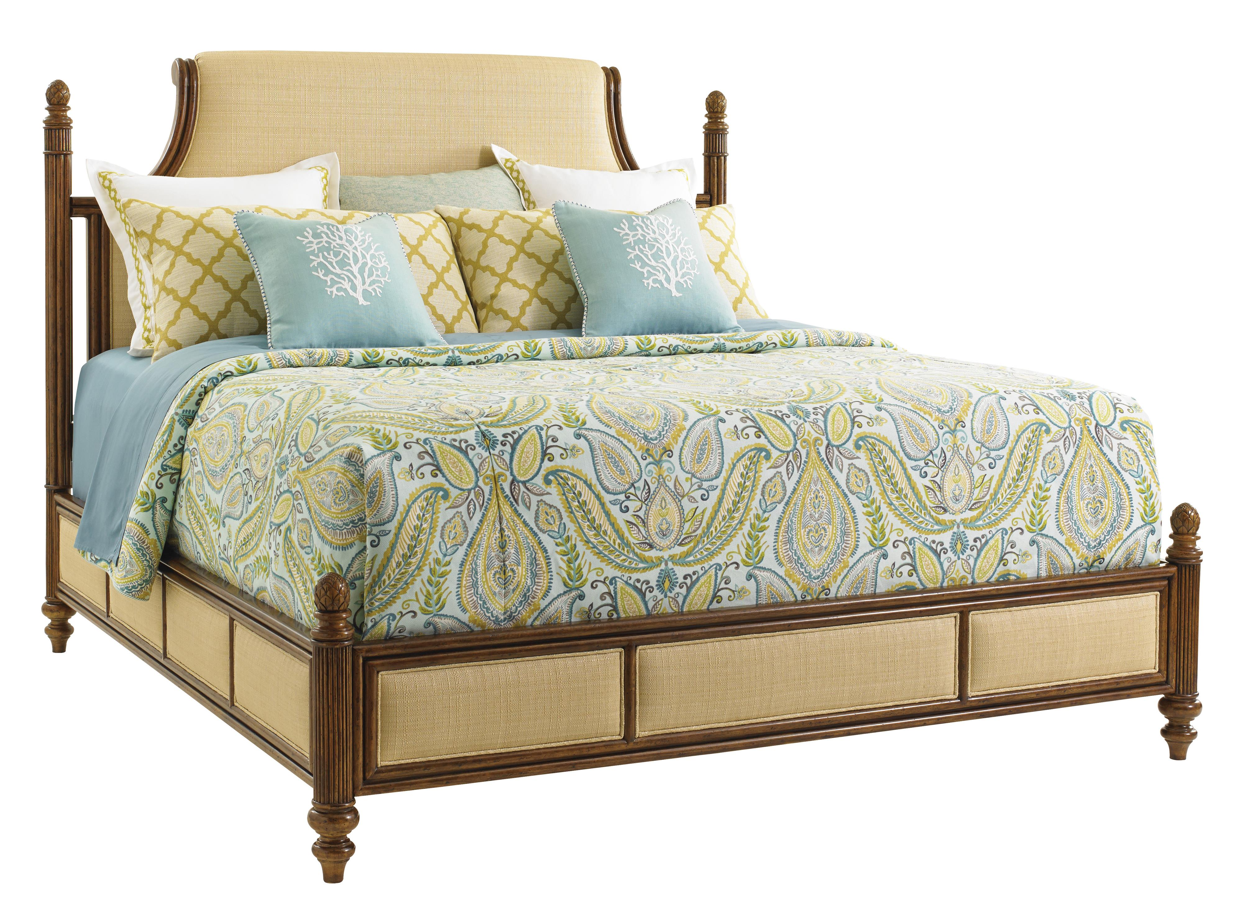 Bali Hai Orchid Bay Upholstered Bed by Tommy Bahama Home at Baer's Furniture