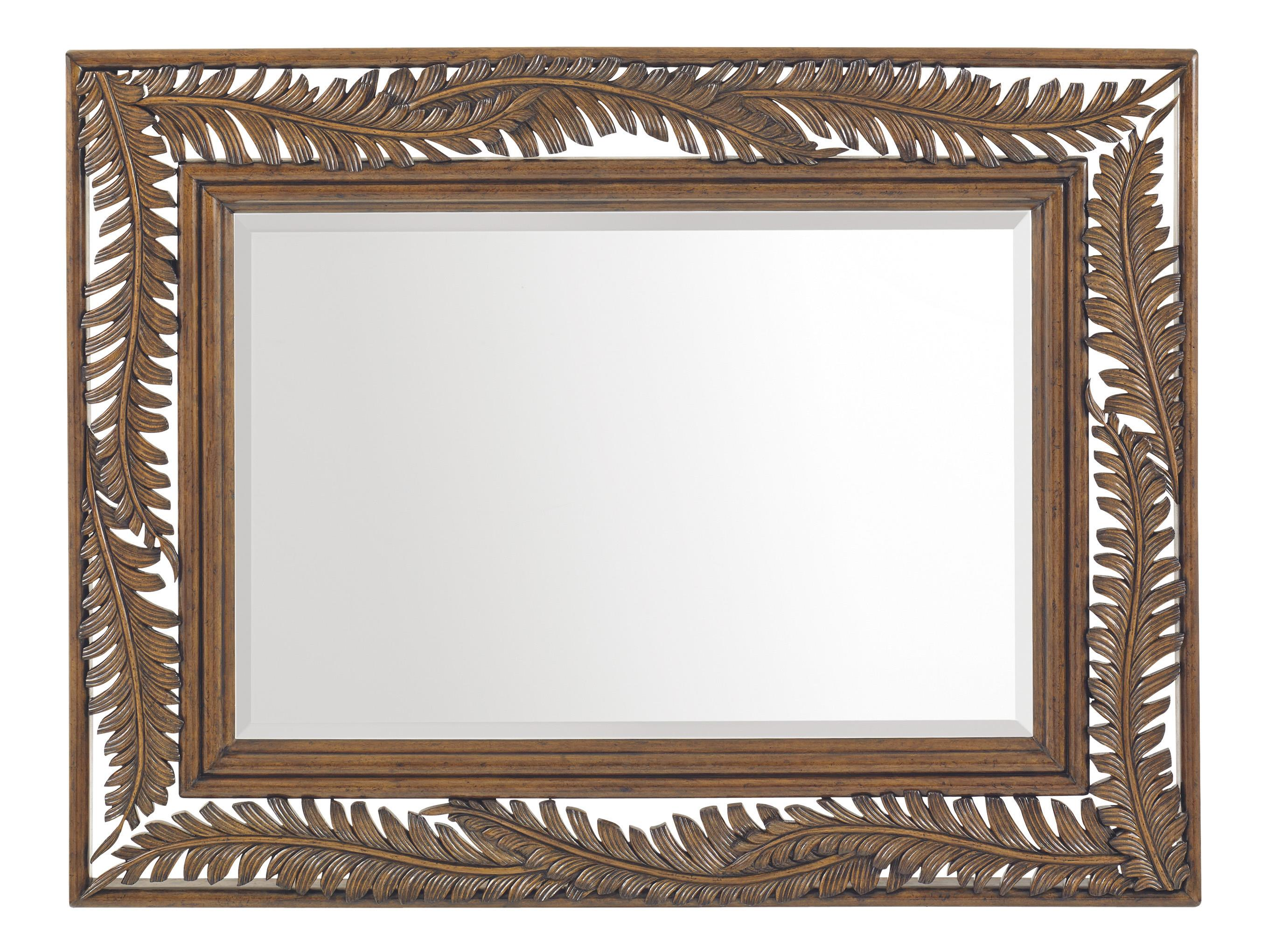 Bali Hai Seabrook Landscape Mirror by Tommy Bahama Home at Baer's Furniture