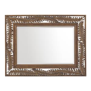 Seabrook Palm Frond Landscape Mirror