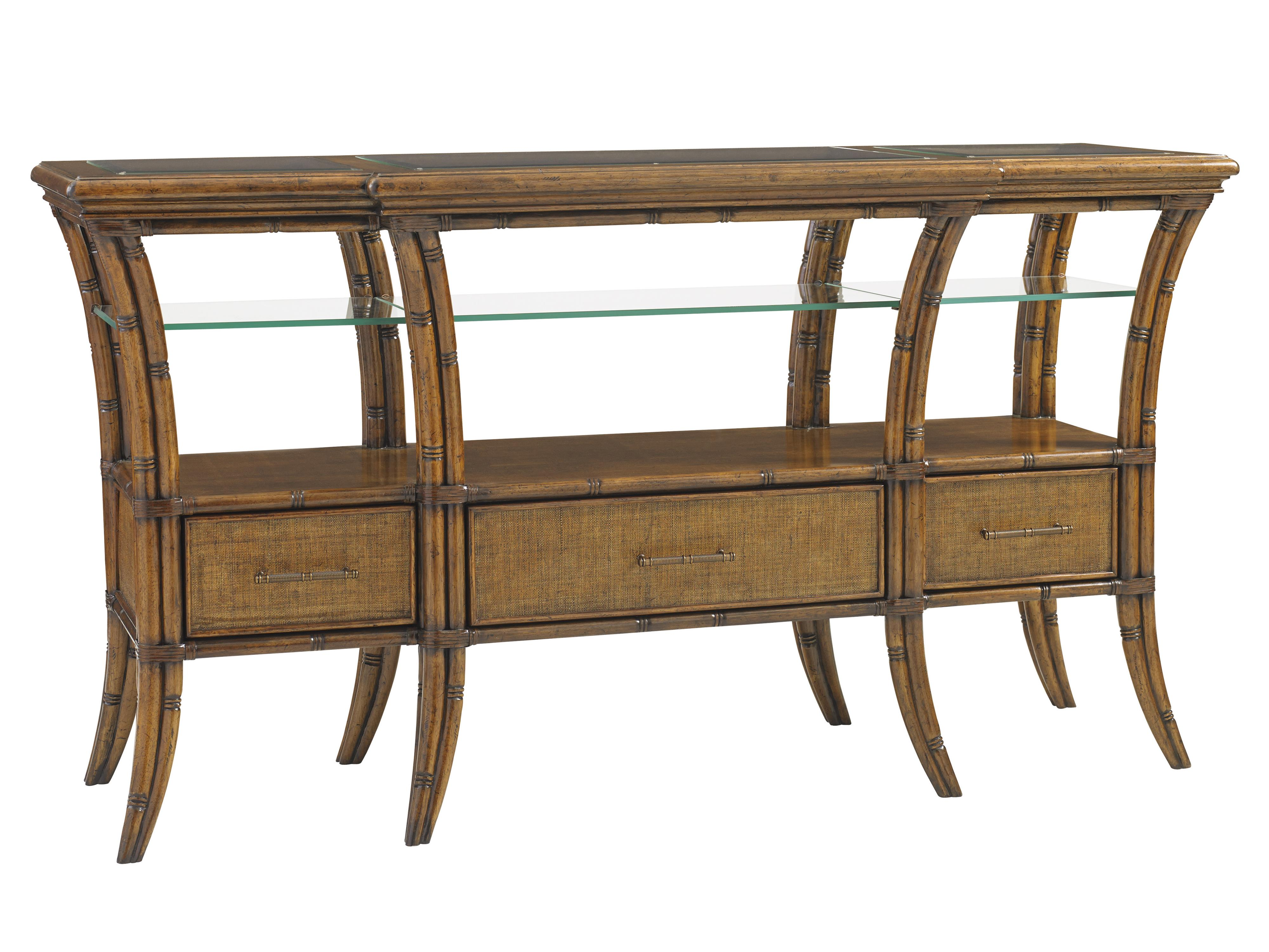 Bali Hai Oyster Reef Sideboard by Tommy Bahama Home at Baer's Furniture