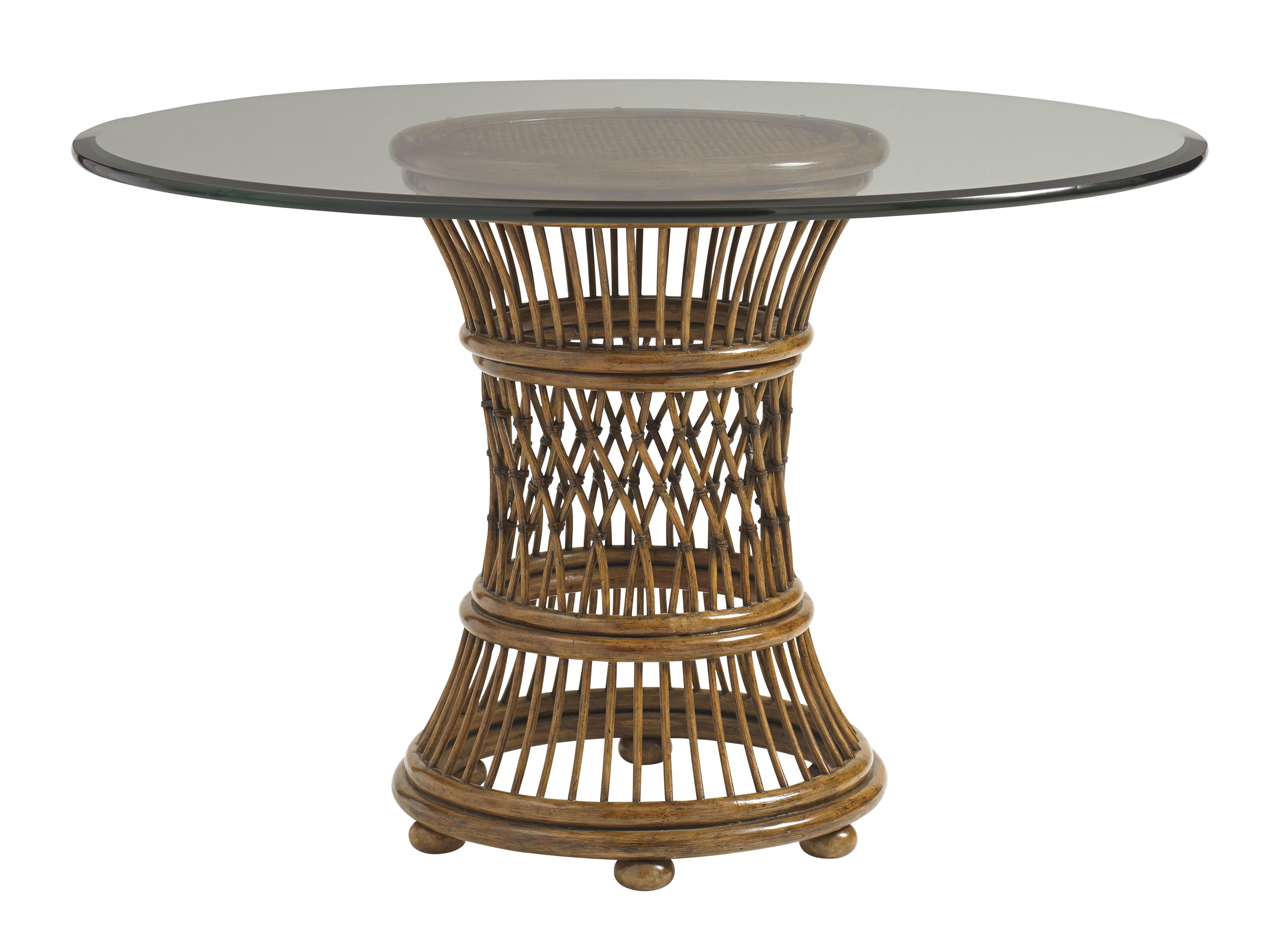 """Bali Hai 36"""" Round Dining Table by Tommy Bahama Home at Baer's Furniture"""