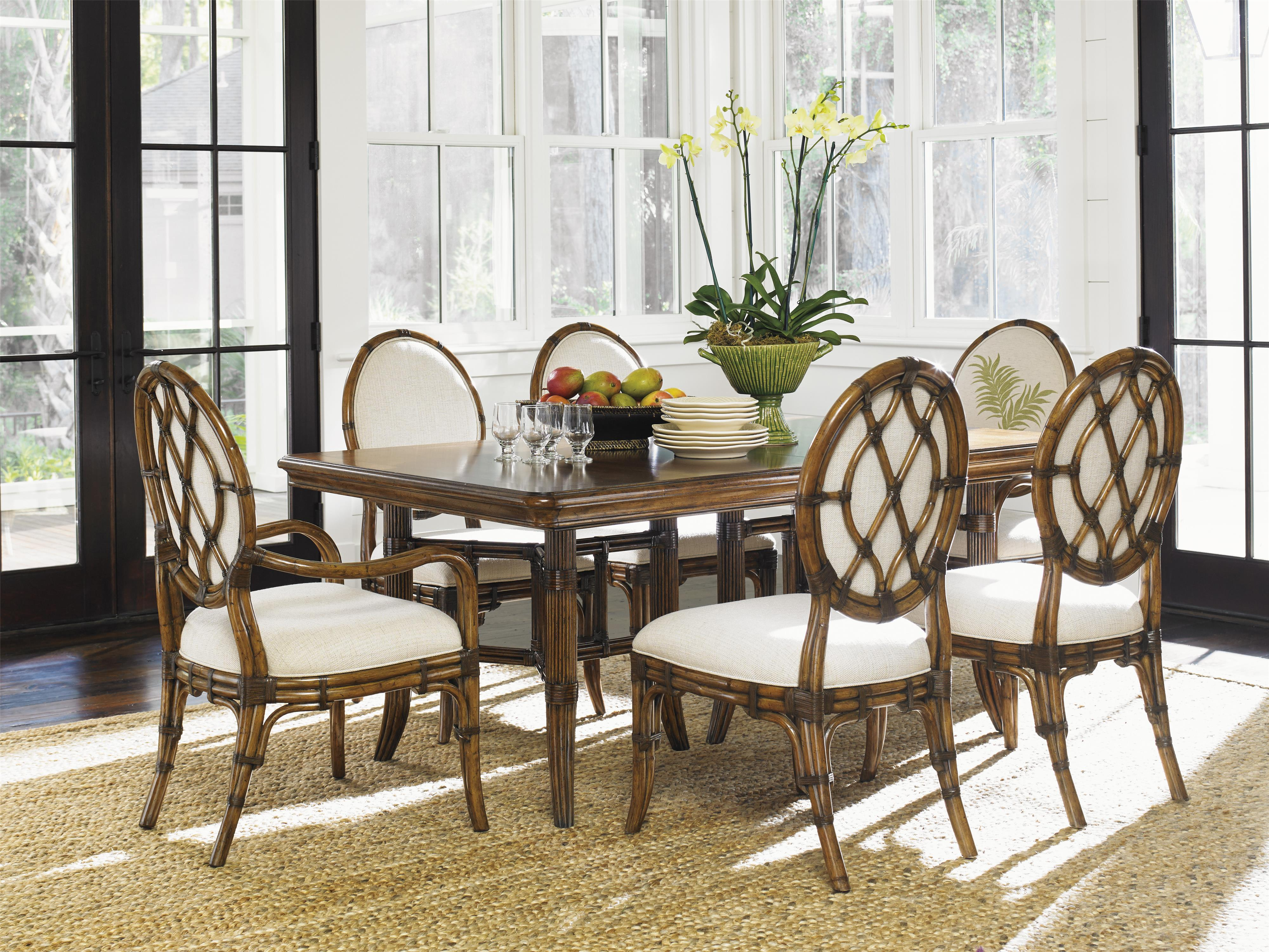Bali Hai 7 Piece Dining Set by Tommy Bahama Home at Baer's Furniture