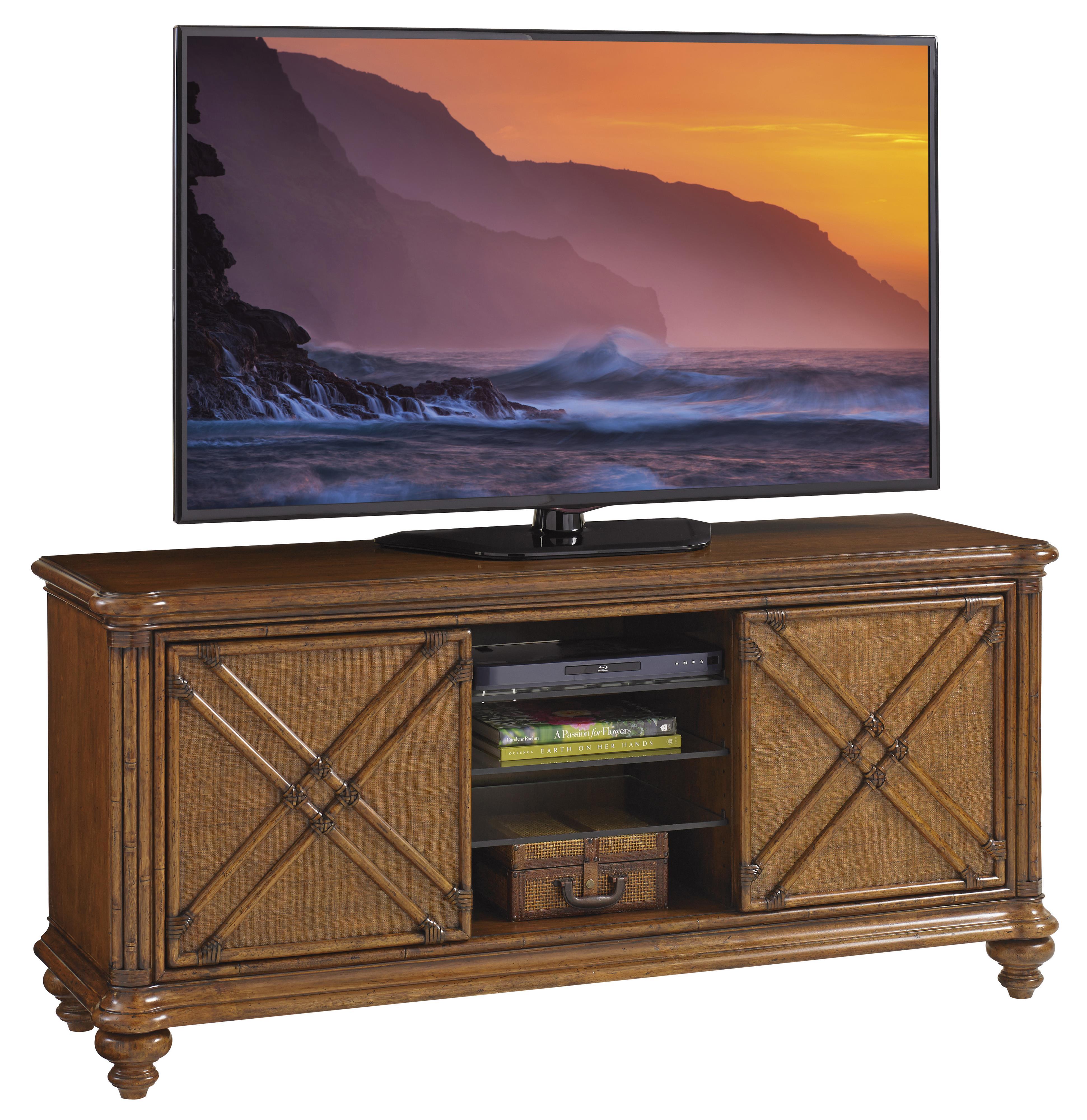 Bali Hai Marlin Media Console by Tommy Bahama Home at Baer's Furniture