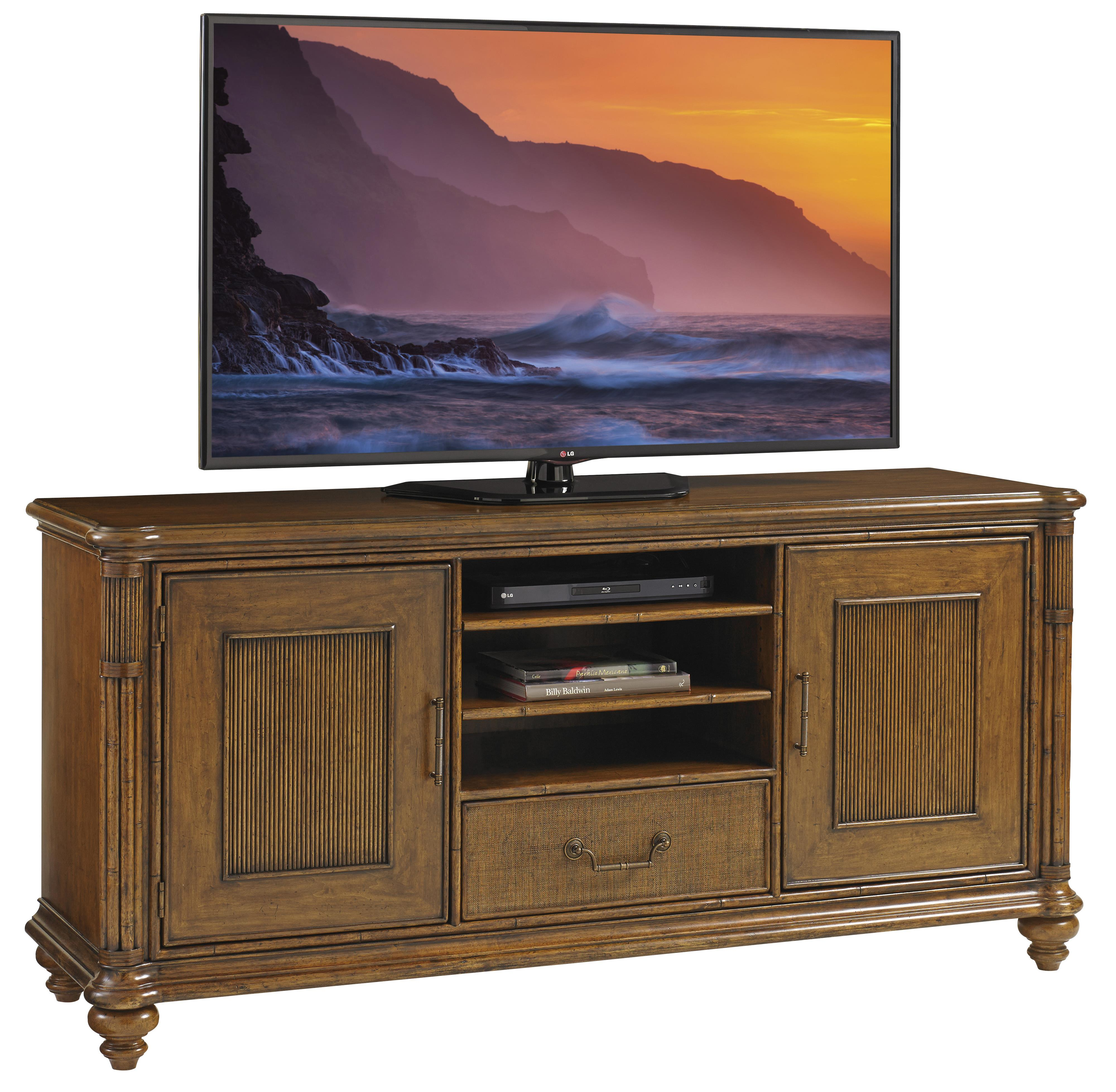 Bali Hai Pelican Cay Media Console by Tommy Bahama Home at Baer's Furniture