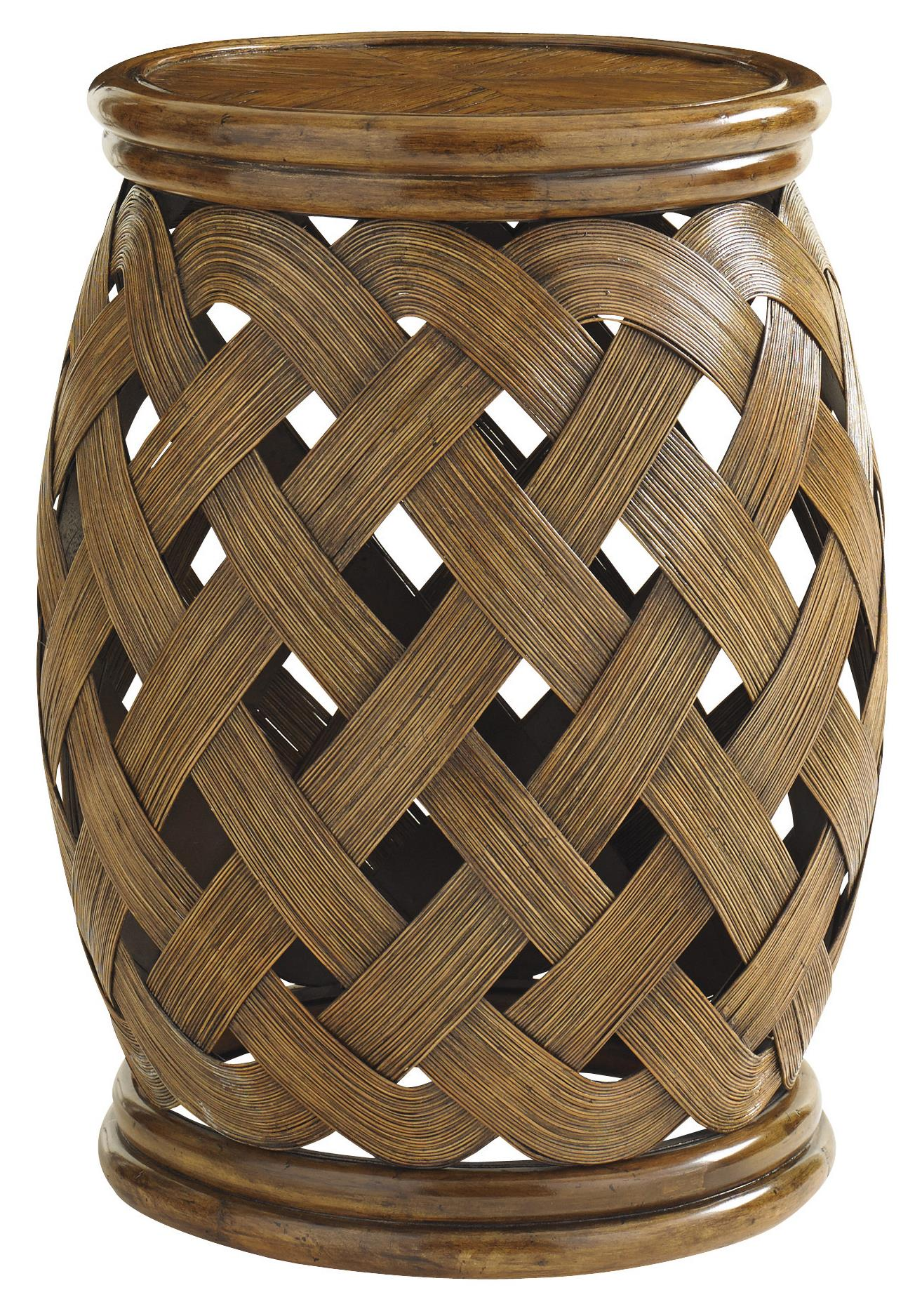 Bali Hai Hibiscus Round Accent Table by Tommy Bahama Home at Baer's Furniture