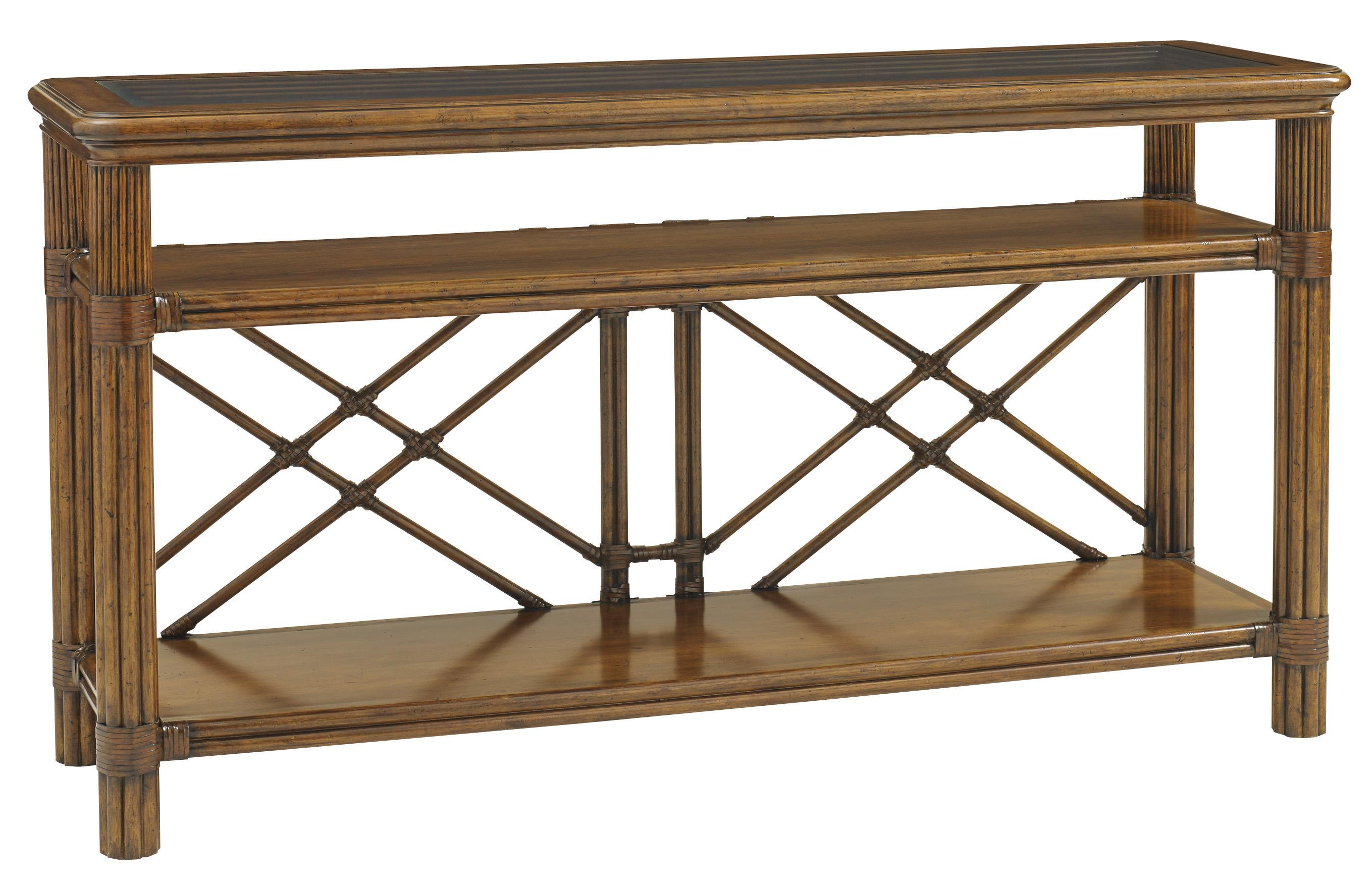 Bali Hai Islander Console by Tommy Bahama Home at Baer's Furniture