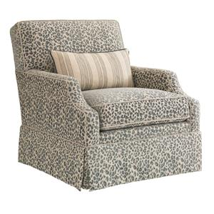 Tommy Bahama Home Bali Hai Courtney Swivel Chair
