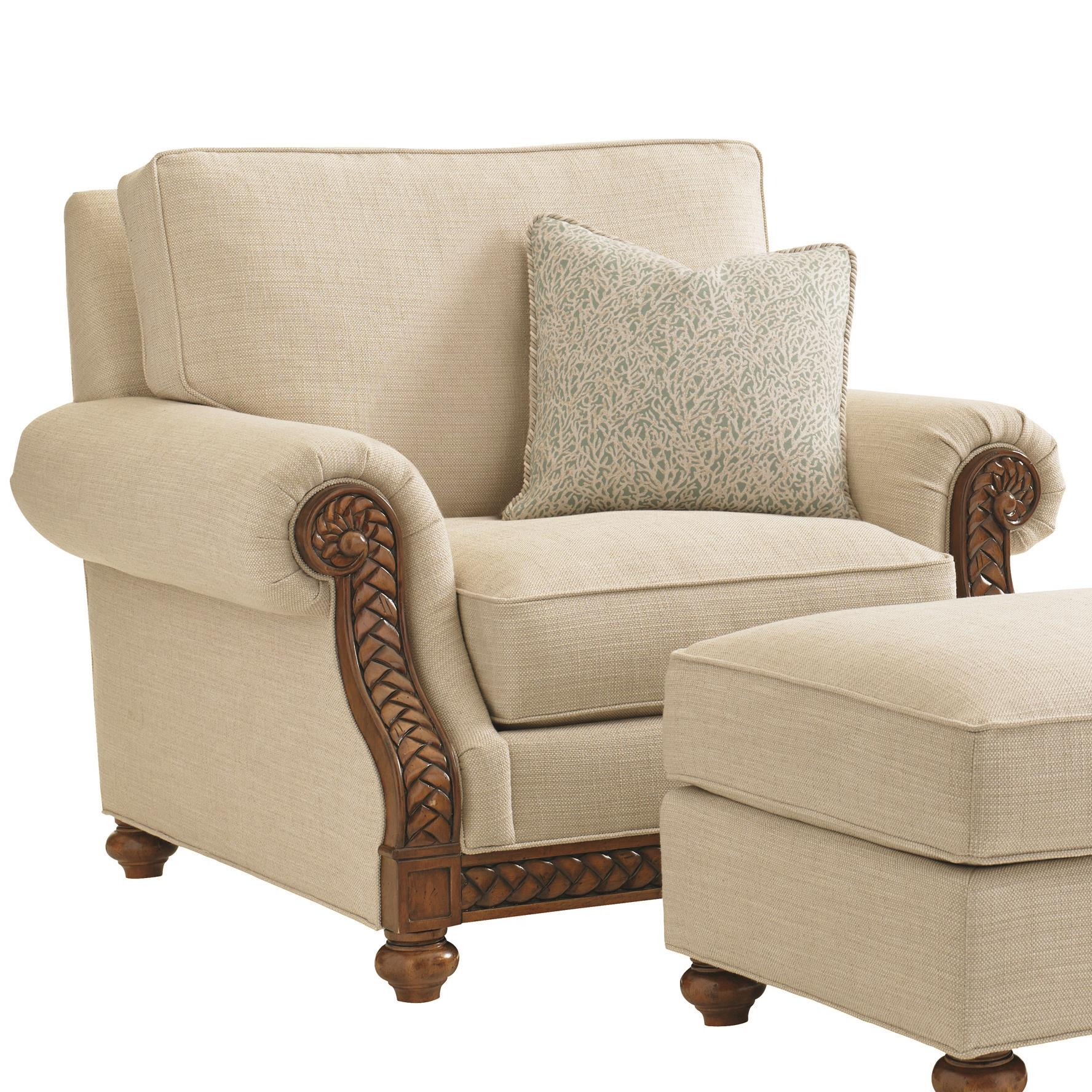 Bali Hai Quickship Shoreline Chair by Tommy Bahama Home at Baer's Furniture