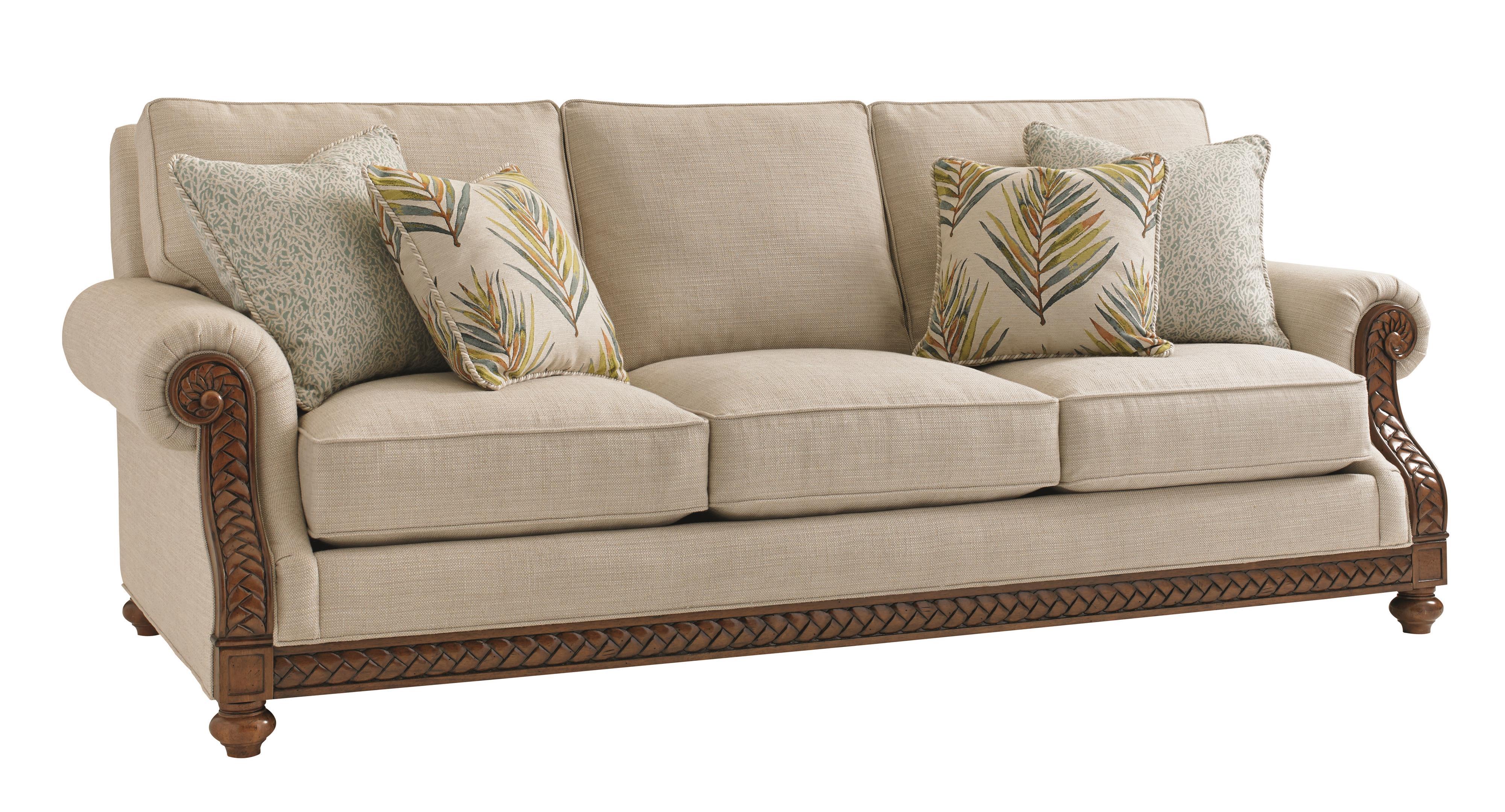 Bali Hai Quickship Shoreline Sofa by Tommy Bahama Home at Baer's Furniture