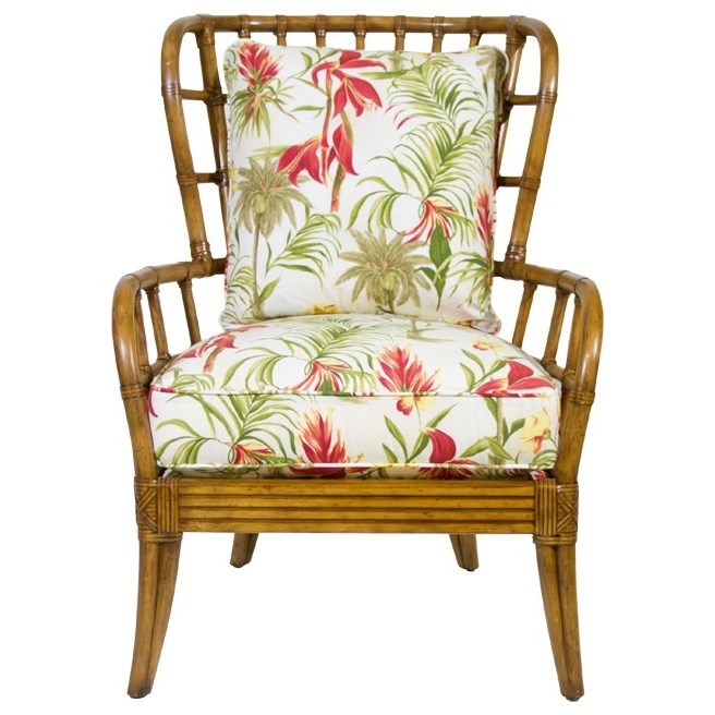 Beach House Sunset Cove Chair by Tommy Bahama Home at Baer's Furniture